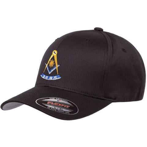 Mason Past Master Flex Fit Hat Freemason [tag]
