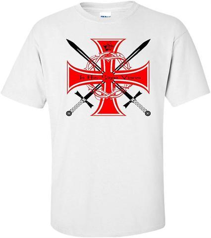 Knights Templar Crossed Swords T Shirt