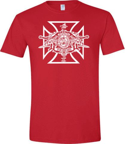 Knights Templar Swords Seal T Shirt