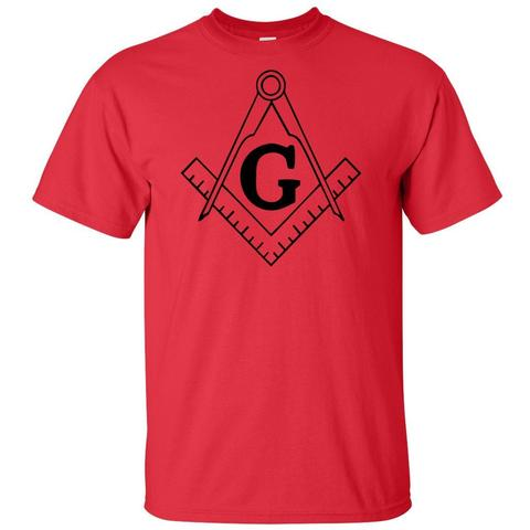 Mason Blue Lodge Freemason Square & Compass T Shirt