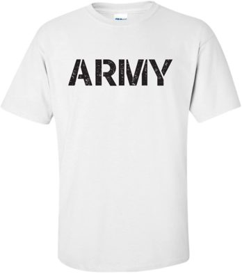 United States Army T Shirt Military