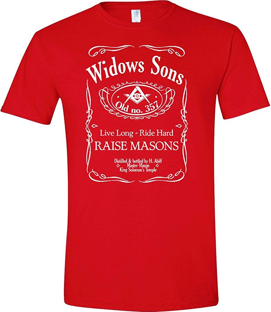 WidowsSonRedTShirt
