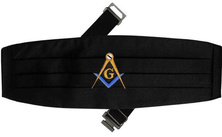 Mason Cummerbund Masonic Formal Wear