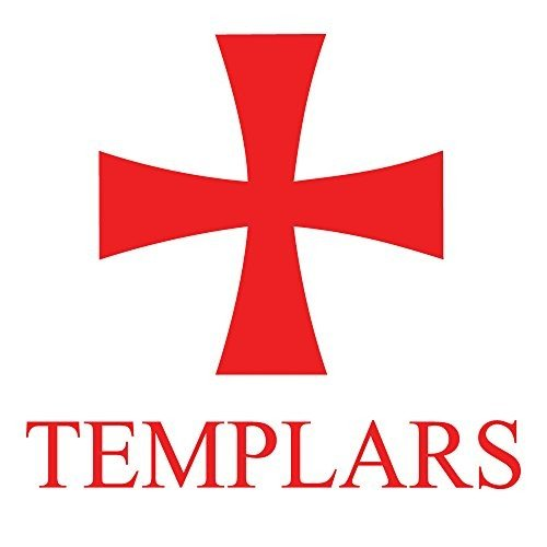 Knights Templar Auto Decal 4 Inch B00UHY7COG
