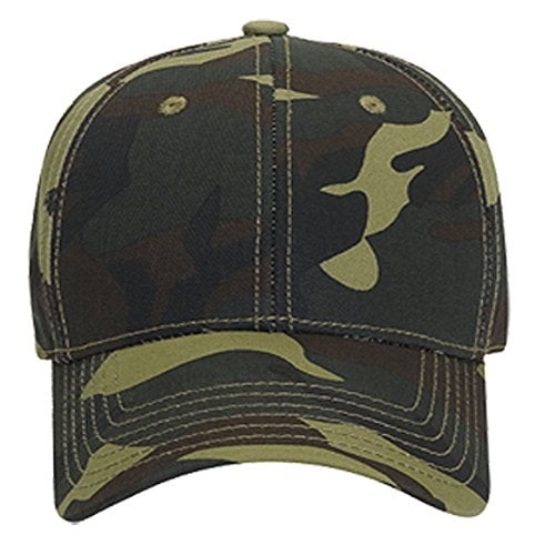 Logoz USA Camouflage Garment Washed Cotton Twill SIX Panel Low Profile Baseball Cap B06XYYDCS2