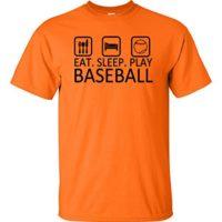 Eat Sleep Play Baseball T Shirt Home