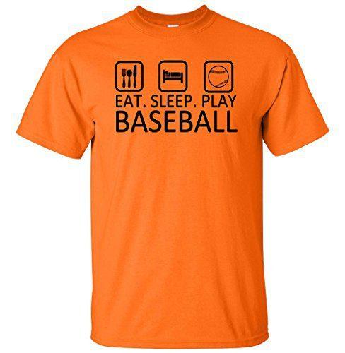 Eat Sleep Play Baseball T Shirt Home [tag]