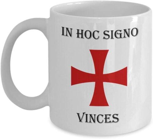 Logoz USA In Hoc Signo Vinces Knights Templar Masonic Coffee Mug B01NBY55Z2