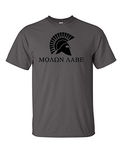 Logoz USA Molon Labe T Shirt B01FOUD6M4