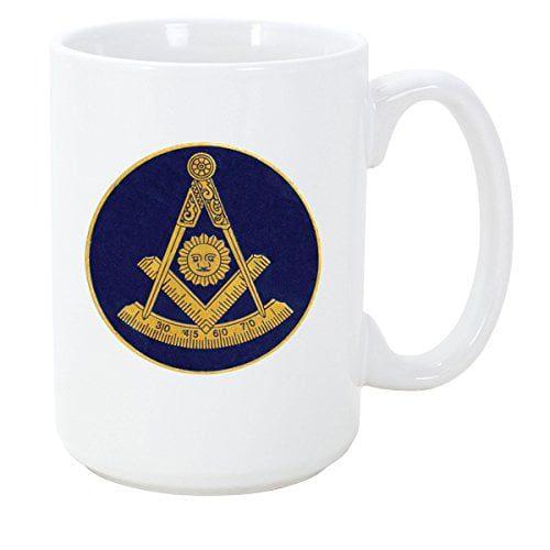 Logoz USA Past Master Mason Masonic Coffee Mug B01N9V31W0