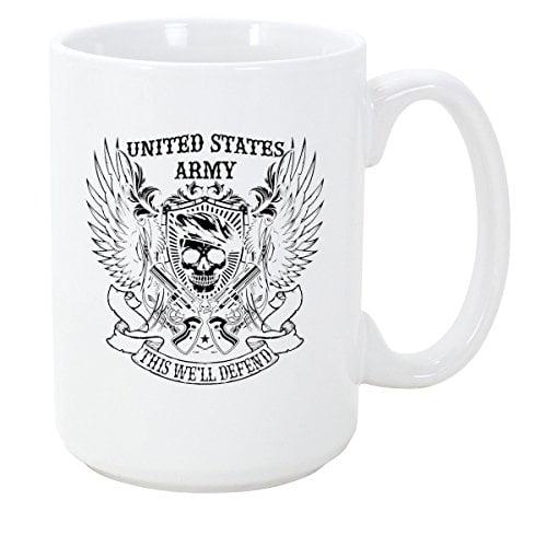Logoz USA United States Army Coffee Mug B01N9V3F4A