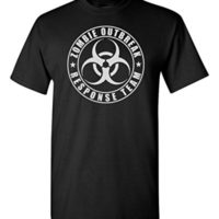 Zombie Outbreak Response Team Shirt Home