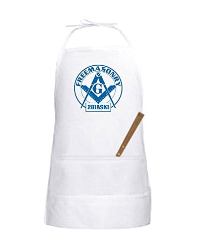 Mason Blue Lodge Apron B00UIEN6V8