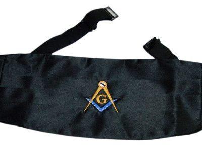 Mason Blue Lodge Cummerbund Home [tag]