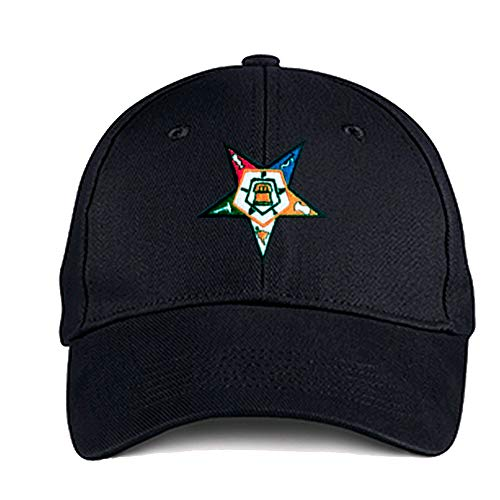 Order of The Eastern Star Masonic OES Ball Cap B084Q5K4MB
