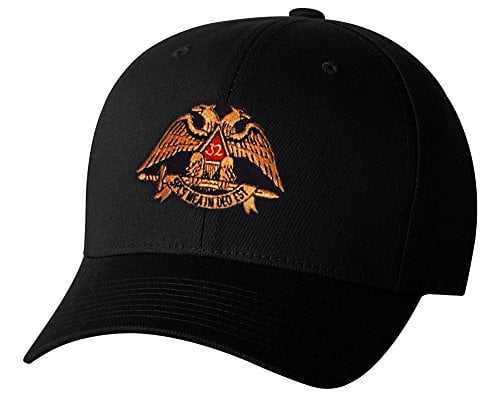 Scottish Rite 32nd Degree Flex Fit Hat Home Masonic