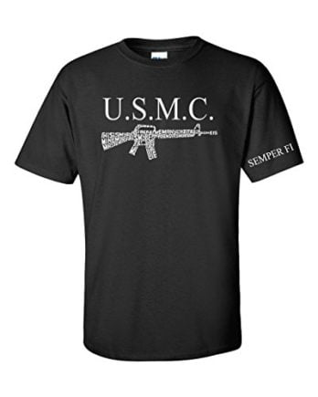 United States Marine My Rifle T Shirt Home