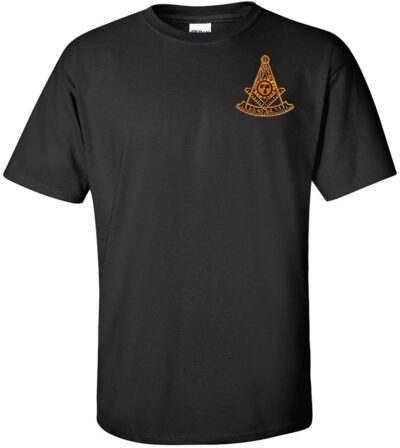 Variation BKPMEMBT2X of Logoz USA Past Master Embroidered T Shirt Masonic B00TOTU166 2529
