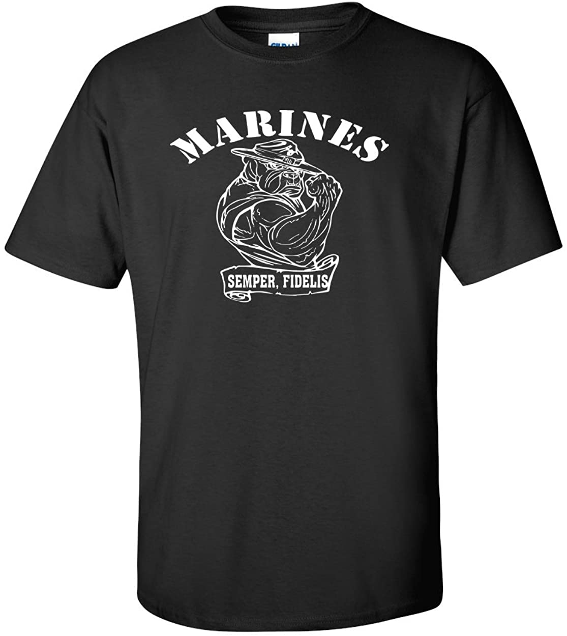 Variation BULL1TBLCK3XLOGOZ of United States Marine T Shirt B00VC9XZNC 3396
