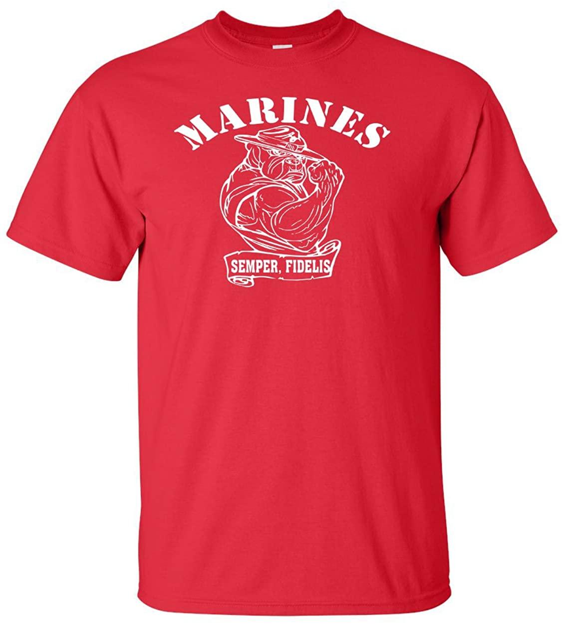 Variation BULL1TREDLLOGOZ of United States Marine T Shirt B00VC9XZNC 3390