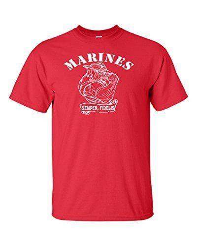 Variation BULL1TREDSLOGOZ of United States Marine T Shirt B00VC9XZNC 3385