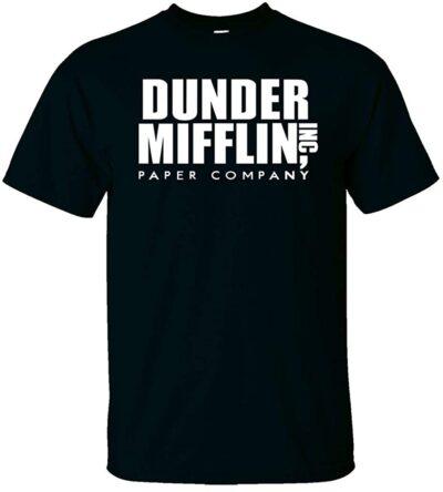 Variation DDMifflin Logoz4XB of Logoz USA Dunder Mifflin Paper Company T Shirts B07KDZWZ8D 3349