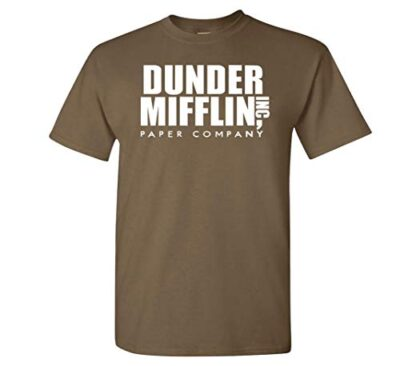 Variation DDMifflin LogozCHOC of Logoz USA Dunder Mifflin Paper Company T Shirts B07KDZWZ8D 3284
