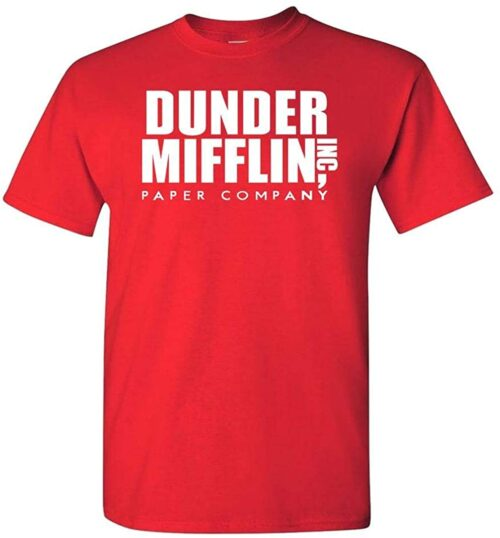 Variation DDMifflin LogozLR of Logoz USA Dunder Mifflin Paper Company T Shirts B07KDZWZ8D 3323