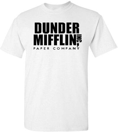 Variation DDMifflin LogozLW of Logoz USA Dunder Mifflin Paper Company T Shirts B07KDZWZ8D 3326