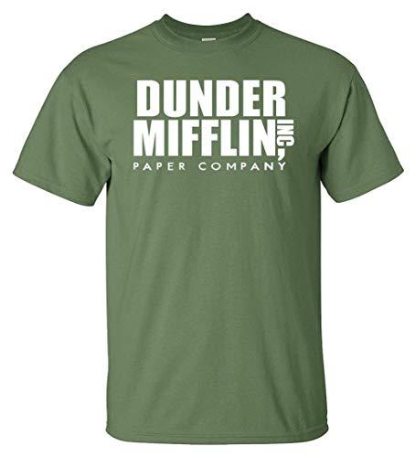 Variation DDMifflin LogozMMG of Logoz USA Dunder Mifflin Paper Company T Shirts B07KDZWZ8D 3307