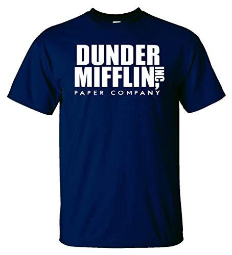 Variation DDMifflin LogozNB of Logoz USA Dunder Mifflin Paper Company T Shirts B07KDZWZ8D 3292