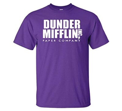 Variation DDMifflin LogozP of Logoz USA Dunder Mifflin Paper Company T Shirts B07KDZWZ8D 3294
