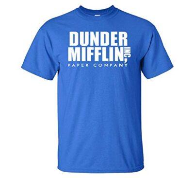 Variation DDMifflin LogozRB of Logoz USA Dunder Mifflin Paper Company T Shirts B07KDZWZ8D 3298