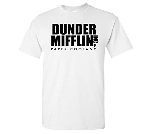 Variation DDMifflin LogozWH of Logoz USA Dunder Mifflin Paper Company T Shirts B07KDZWZ8D 3300