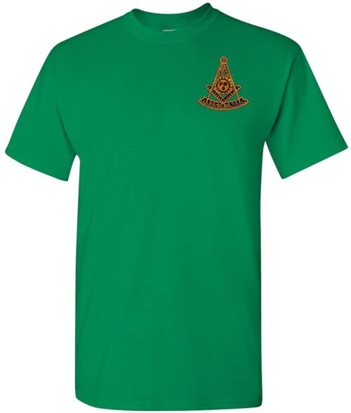 Variation GNPMEMBTXL of Logoz USA Past Master Embroidered T Shirt Masonic B00TOTU166 2523
