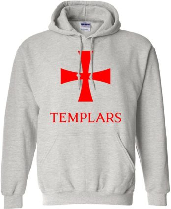 Knights Templar Hoodie Pullover Sweatshirt Home