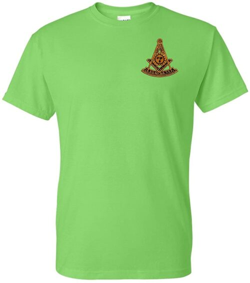 Variation LMPMEMBTS of Logoz USA Past Master Embroidered T Shirt Masonic B00TOTU166 2501