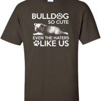 Variation LogozBulldogHaterTCHARM of Bulldog So Cute Even The Haters Like Us B07K1LBCDY 2944