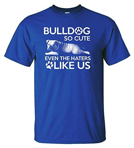 Variation LogozBulldogHaterTRYS of Bulldog So Cute Even The Haters Like Us B07K1LBCDY 2936