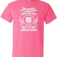 Variation LogozPitBullFunnySnuglyATP5X of Logoz USA Pitbull Funny and Snugly Adorable and Happy T Shirt B07K1LY7T8 2789
