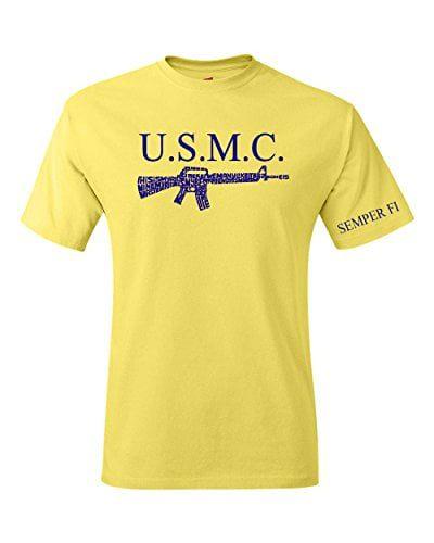 Variation MARINETYMLOGOZ of United States Marine My Rifle T Shirt B00VB0ZNRS 2669