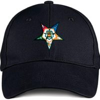 Variation OES00001HATBLACK of Order of The Eastern Star Masonic OES Ball Cap B084Q5K4MB 2624