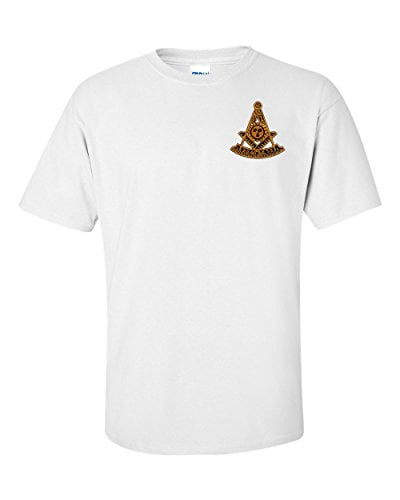 Variation WPMEMBTS of Logoz USA Past Master Embroidered T Shirt Masonic B00TOTU166 2507