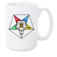 Logoz USA – Order of the Eastern Star Masonic Coffee Mug OES Coffee Mugs
