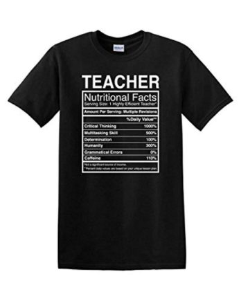 Teacher Facts T-Shirt Home