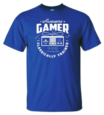 Awesome Gamer Classically Trained