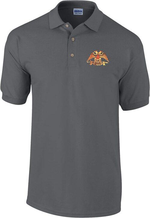 Scottish Rite Polo Golf Shirt Free Customization Freemason [tag]