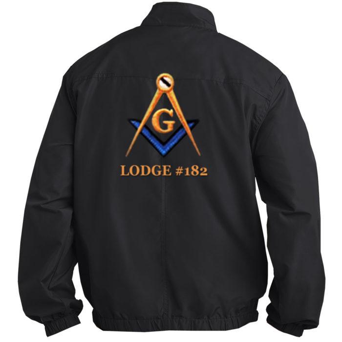 Mason Blue Lodge Fullback Jacket Embroidered Masonic Freemason Home Jackets
