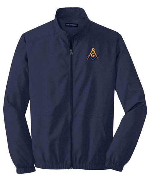 Mason Blue Lodge Fullback Jacket Embroidered Masonic Freemason Freemason Jackets