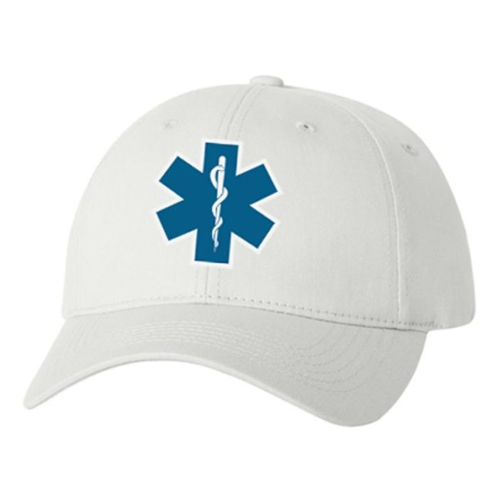 EMT Star of Life Cap Emergency Medical Technician Gift Firefighters [tag]